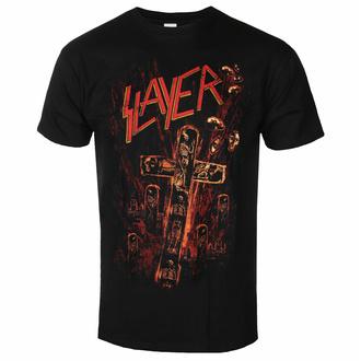 Maglietta da uomo Slayer - Blood Red - Nero - ROCK OFF, ROCK OFF, Slayer