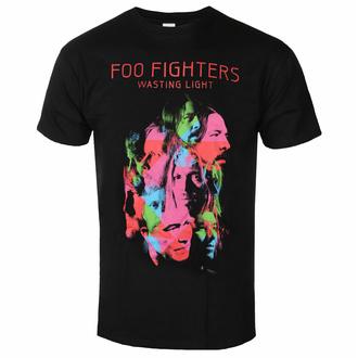 Maglietta da uomo Foo Fighters - Wasting Light - Nero - ROCK OFF, ROCK OFF, Foo Fighters