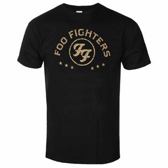 Maglietta da uomo Foo Fighters - Arched Stars - Nero - ROCK OFF, ROCK OFF, Foo Fighters