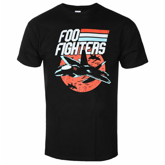 Maglietta da uomo Foo Fighters - Jets - Nero - ROCK OFF - FOOTS22MB