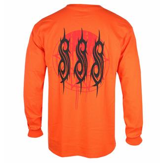 Maglietta da uomo a maniche lunghe Slipknot - Winged Devil - ARANCIONE - ROCK OFF, ROCK OFF, Slipknot
