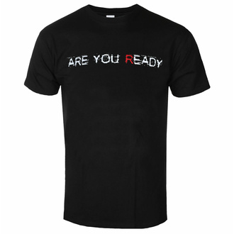 Maglietta da uomo Disturbed - Are You Ready - Nero - ROCK OFF, ROCK OFF, Disturbed