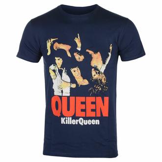 Maglietta da uomo Queen - Killer Queen - NAVY - ROCK OFF, ROCK OFF, Queen