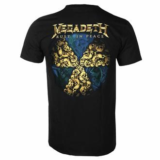 Maglietta da uomo Megadeth - Rust In Peace 30th Anniversary - Nero - ROCK OFF, ROCK OFF, Megadeth