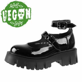 Scarpe da donna ALTERCORE - Costance Vegan Black Patent, ALTERCORE