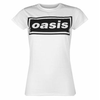 Maglietta da donna Oasis - Logo Decca - bianca, NNM, Oasis