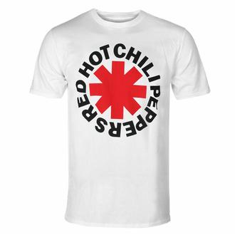 Maglietta da uomo Red Hot Chili Peppers - Red Asterisk - bianca, NNM, Red Hot Chili Peppers