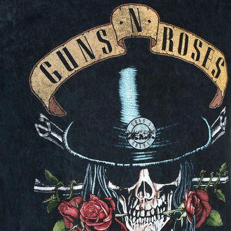 Maglietta da uomo Guns N' Roses - Appetite Washed - BL Dip-Dye - ROCK OFF, ROCK OFF, Guns N' Roses