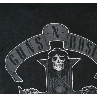 Maglietta da uomo Guns N' Roses - Monochrome Cross - BL Dip-Dye - ROCK OFF, ROCK OFF, Guns N' Roses