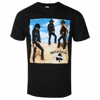 Maglietta da uomo Motörhead - Ace Of Spades - Tracklist BL - ROCK OFF, ROCK OFF, Motörhead