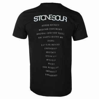 Maglietta da uomo Stone Sour - Audio Secrecy Square BL - ROCK OFF, ROCK OFF, Stone Sour