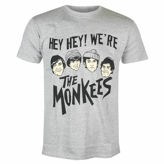 Maglietta da uomo Monkees - Hey Hey! - GRIGIO - ROCK OFF, ROCK OFF, Monkees