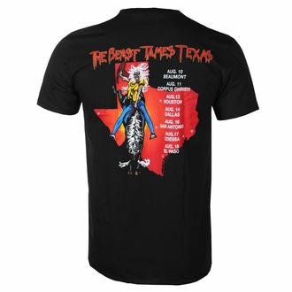 Maglietta da uomo Iron Maiden - The Beast Tames Texas BL - ROCK OFF, ROCK OFF, Iron Maiden