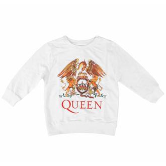 Maglietta da bambini a maniche lunghe Queen - Classic WHT - ROCK OFF, ROCK OFF, Queen