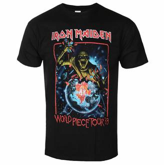 Maglietta da uomo Iron Maiden - World Piece Tour '83 V1 BL - ROCK OFF, ROCK OFF, Iron Maiden
