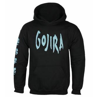 Felpa da uomo Gojira - Fortitude Faces BL - ROCK OFF - GOJHD03MB