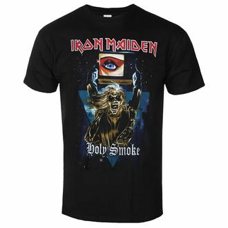 Maglietta da uomo Iron Maiden - Holy Smoke Space Triangle BL - ROCK OFF, ROCK OFF, Iron Maiden