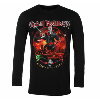 Maglietta da uomo a maniche lunghe Iron Maiden - Nights of the Dead BL - ROCK OFF, ROCK OFF, Iron Maiden