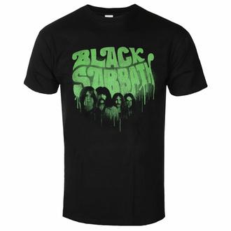 Maglietta da uomo Black Sabbath - Graffiti Logo BL - ROCK OFF, ROCK OFF, Black Sabbath