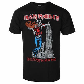 Maglietta da uomo Iron Maiden - The Beast in New York BL - ROCK OFF, ROCK OFF, Iron Maiden