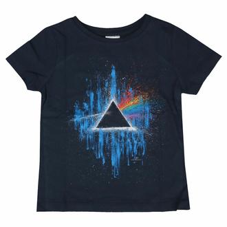 Maglietta da bambini Pink Floyd - DSOTM Blue Splatter NAVY - ROCK OFF, ROCK OFF, Pink Floyd