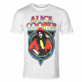 Maglietta da uomo Alice Cooper - Snakeskin WHT - ROCK OFF, ROCK OFF, Alice Cooper