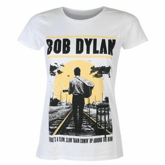 Maglietta da donna Bob Dylan - Slow Train WHT - ROCK OFF, ROCK OFF, Bob Dylan