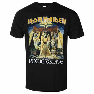 Maglietta da uomo Iron Maiden - Powerslave World Slavery Tour BL - ROCK OFF, ROCK OFF, Iron Maiden