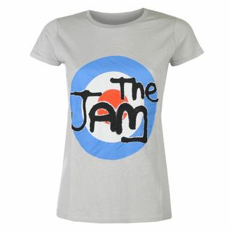 Maglietta da donna The Jam Spray Target Logo GRIGIO - ROCK OFF, ROCK OFF