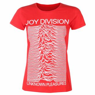 Maglietta da donna Joy Division - Unknown Pleasures FP ROSSO - ROCK OFF, ROCK OFF, Joy Division