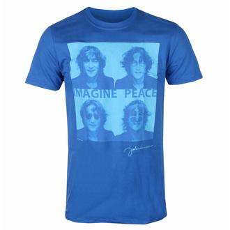 Maglietta da uomo John Lennon - Glasses 4 Up BLU - ROCK OFF - JLTS12MBL
