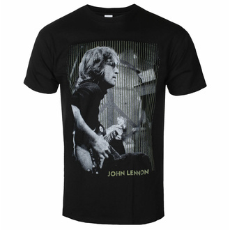 Maglietta da uomo John Lennon - Gibson BL - ROCK OFF - JLTS13MB