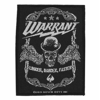 Toppa Warrant - Louder Harder Faster - ROCK OFF, ROCK OFF, Warrant