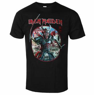 Maglietta da uomo Iron Maiden - Eddie Warrior Circle BL - ROCK OFF - IMTEE137MB
