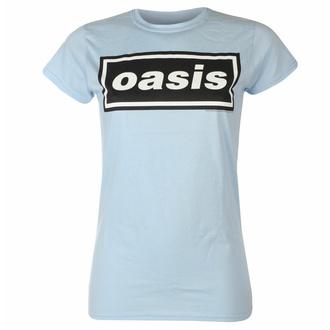Maglietta da donna Oasis - Decca Logo Sky Blue, NNM, Oasis