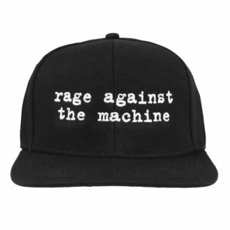Cappello Rage Against the Machine - Logo Ricamato Nero, NNM, Rage against the machine