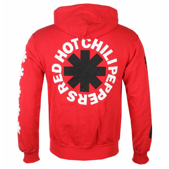 Felpa da uomo Red Hot Chili Peppers - Classic B&N Asterisk Red, NNM, Red Hot Chili Peppers