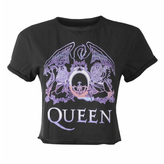 Maglietta da donna (top) QUEEN - NEON SIGN - CARBONE - AMPLIFIED, AMPLIFIED, Queen