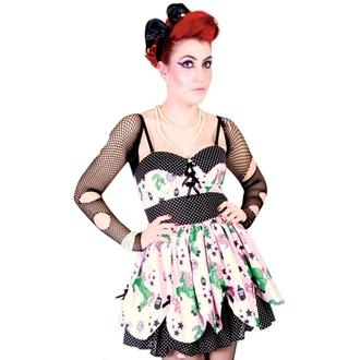 vestito donna HELL BUNNY - Zombie Petalo Dress - Pink, HELL BUNNY