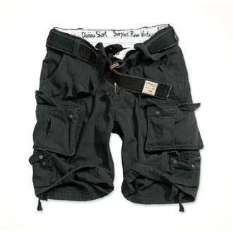 pantaloncini SURPLUS - DIVISION BREVE - BLACK, SURPLUS