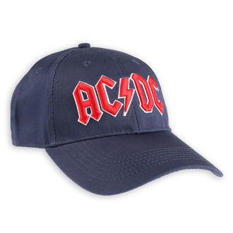 berretto  AC  /  DC  - Red Logo Navy - ROCK OFF, ROCK OFF, AC-DC