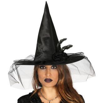 Halloween Strega Cappello NERO STREGA FIORE
