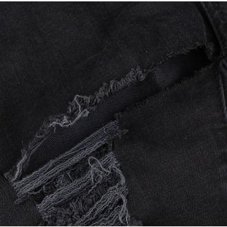 pantaloni DISTURBIA - Black Metal - DIS801-BLK - DANNEGGIATO, DISTURBIA