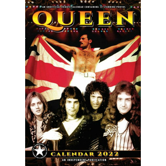 Calendario 2022 - QUEEN, NNM, Queen