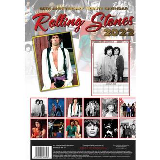 Calendario 2022 - ROLLING STONES, NNM, Rolling Stones