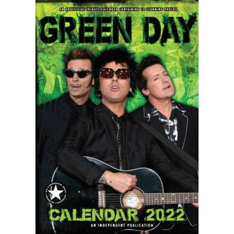 Calendario 2022 GREEN DAY, NNM, Green Day