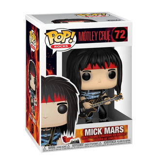 Statua/ figura Mötley Crüe - POP! - Rocks - Mick Marte, POP, Mötley Crüe