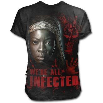 t-shirt film uomo The Walking Dead - MICHONNE - SPIRAL, SPIRAL
