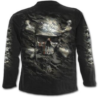 t-shirt uomo - CAMO-SKULL - SPIRAL, SPIRAL
