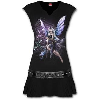 vestito donna SPIRAL - DRAGON KEEPER - Nero, SPIRAL